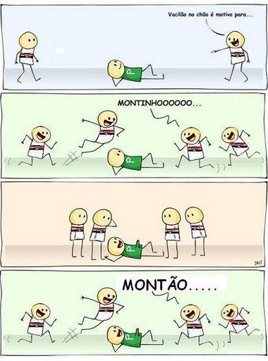 Montão São Paulino!