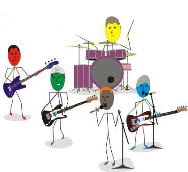 Esta imagem é meramente ilustrativa e não representa os integrantes da banda. Por favor, ninguém se sinta ofendido por talvez não estar aparecendo nessa imagem.